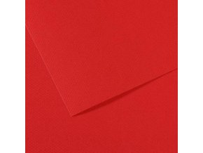 Pastelový papír 160g - č.505  Červená tmavá