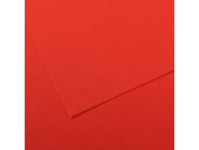 Pastelový papír 160g - č.506  Červená světlá