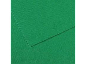 Pastelový papír 160g - č.575  Biliárdová zelená