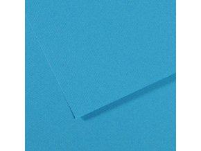Pastelový papír 160g - č.595  Modrá tyrkysová