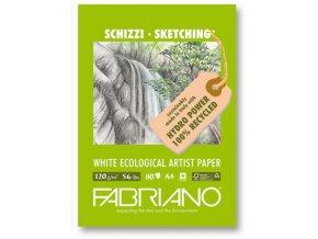 Blok skicovací 120g Fabriano ecologico - A4