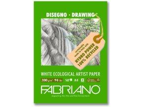 Blok kreslící 200g  Fabriano Ecologico - A4