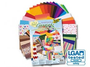 Sada barevných papírů 25 x 35cm - Velká Ganzjahr