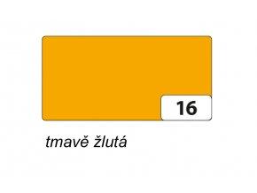 Barevný papír 130g - 16 Žlutá tmavá