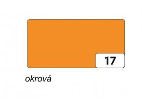 Barevný papír 130g - 17 Okr