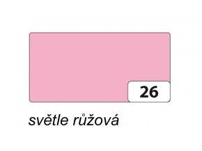 Barevný papír 300g - 26 Růžová světlá