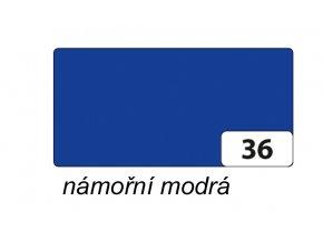 Barevný papír 130g - 36  Námořní modrá