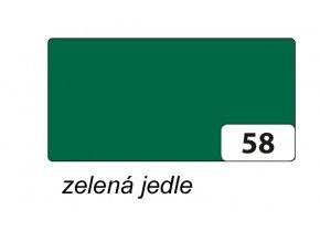 Barevný papír 130g - 58  Zelená jedle