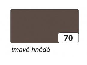 Barevný papír 300g - 70  Hnědá tmavá
