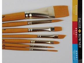 Sada štětců pro olej, akryl, akvarel Daler-Rowney SIMPLY 216920700