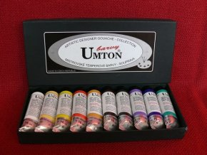 Temperové barvy Umton sada 10 x 16 ml. tuby