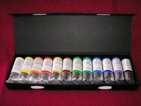 Temperové barvy Umton sada 12 x 35 ml. tuby