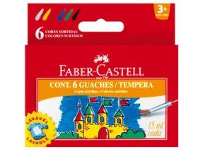 Temperové barvy Faber Castell