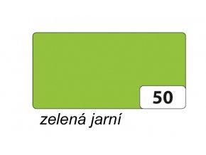 Barevný papír 300g - 50 Zelená jarní