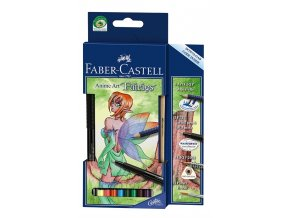 Sada akvarelových pastelek ART GRIP Anime Art  FAIRIES - Faber-Castell