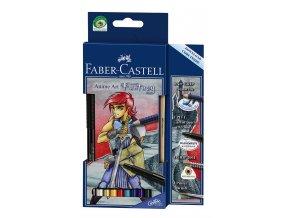 Sada akvarelových pastelek ART GRIP Anime Art  FANTASY- Faber-Castell