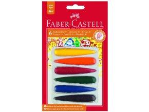 Sada 6 plastických pastelek do dlaně - Faber-Castell