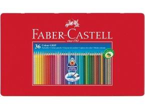 Sada 36 školních akvarelových pastelek GRIP - Faber-Castell