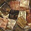Mozaikové plastové kamínky mramorové 5 x 5 mm  -  hnědá