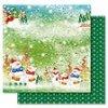 Scrapbooking papír Vánoční 30 x 30cm/190g - Motiv 01