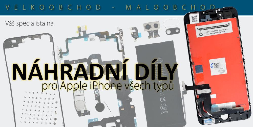 Náhradní díly iPhone