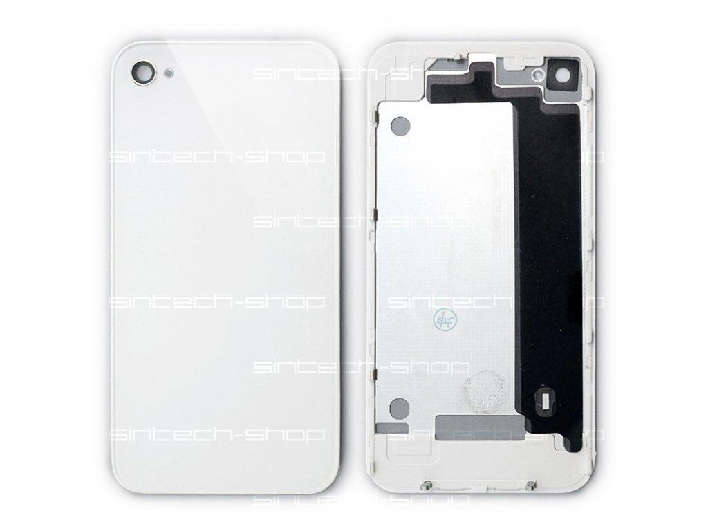 iPhone4 zadní kryt - bílý - SINTECH-SHOP.CZ 65438a7e22e