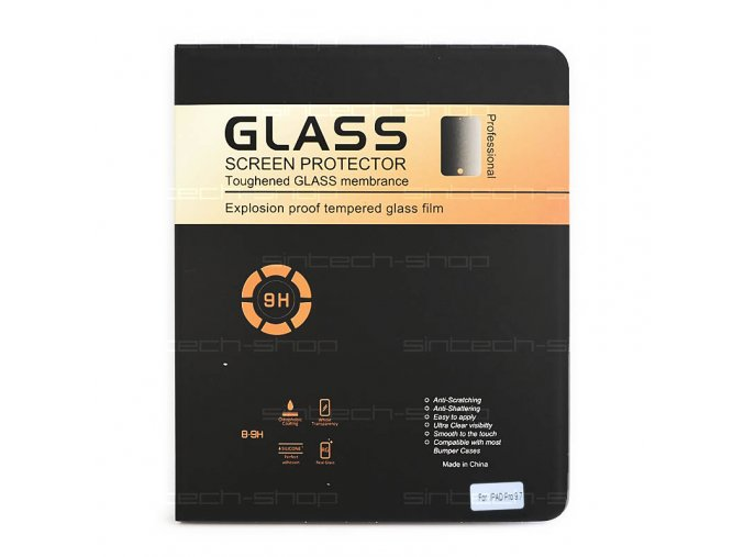 "iPad Pro 9,7"" ochranné tvrzené sklo 9H, SINTECH© Premium"