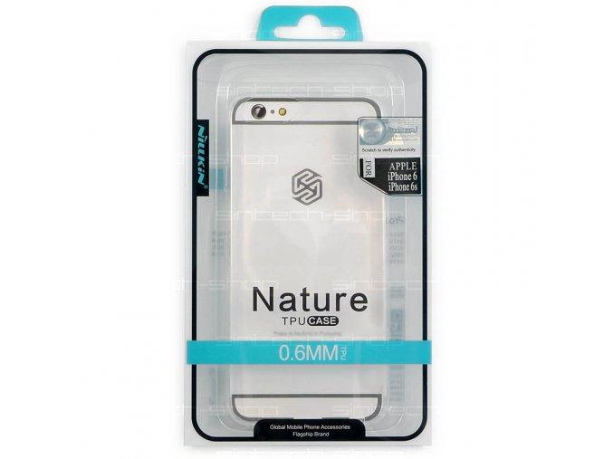 "Nillkin Nature TPU Pouzdro pro iPhone 6/6S (4.7"") průhledné"