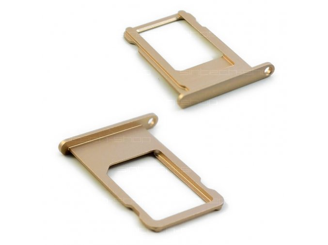 iPhone 6S držák nano SIM karty, zlatý
