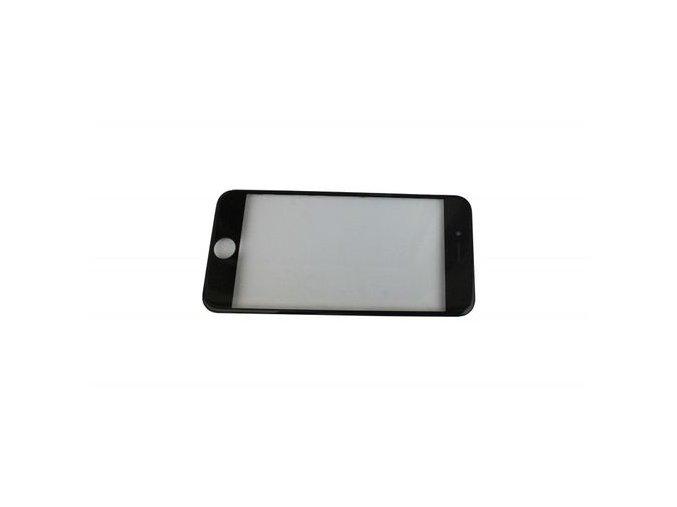 """iPhone 7 (4,7"""") čelní dotykové sklo s rámem OCA lepící vrstvou a polarizerem PREMIUM - černé"""