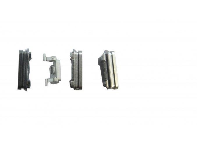 iPhone 6S Plus stříbrný set tlačítek (volume, mute a power button)