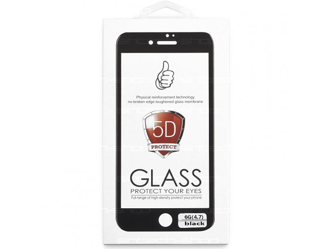 "5D tvrzené sklo 9H pro iPhone 6/6S (4,7"")"