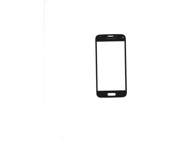 Samsung Galaxy S5 mini G800F čelní dotykové sklo černé