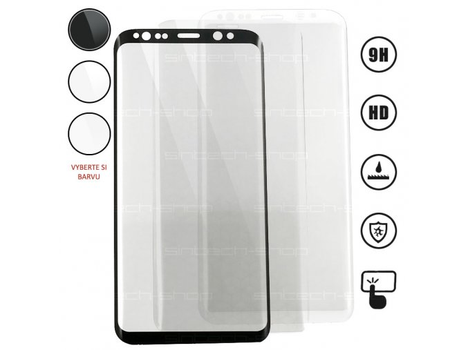 3D tempered glass s8 main
