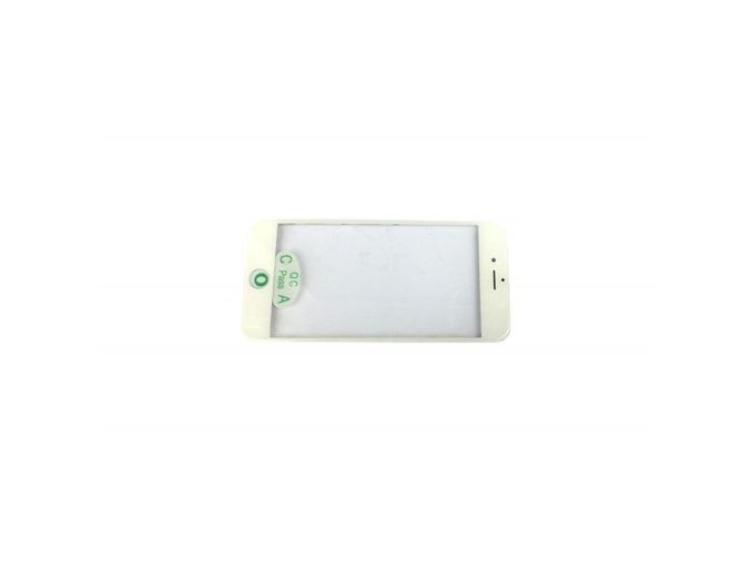 """iPhone 8 (4,7"""") čelní dotykové sklo s rámem, OCA lepící vrstvou a polarizerem PREMIUM - bílé"""