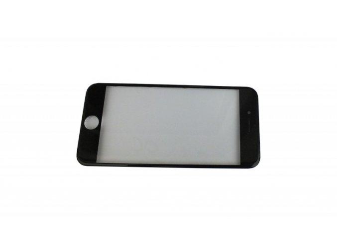"""iPhone 8 (4,7"""") čelní dotykové sklo s rámem, OCA lepící vrstvou a polarizerem PREMIUM - černé"""
