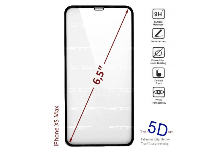 9897 6216 tempered glass XS Max 1
