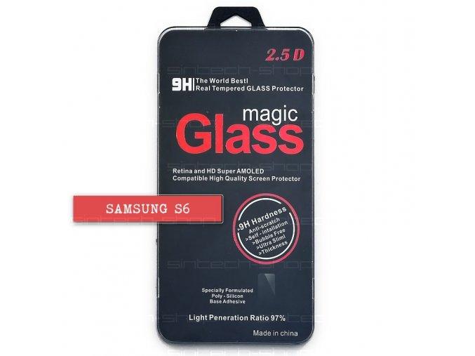 Samsung Galaxy S6 ochranné tvrzené sklo, různé barvy