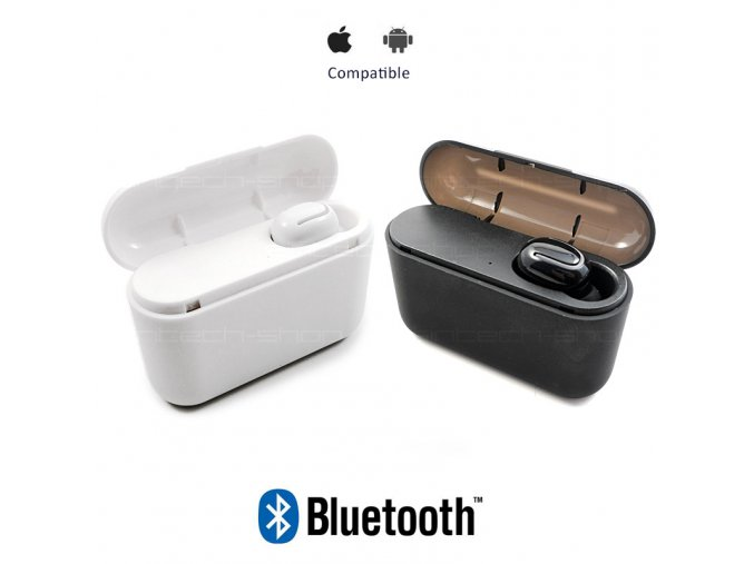 HBQ-Q32 TWS Mini HF sluchátko Bluetooth 5.0 s nabíjecí stanicí