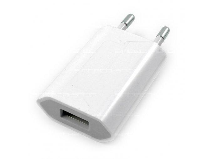 Originální Apple 5W USB nabíječka MD813ZM (A1400) Bulk