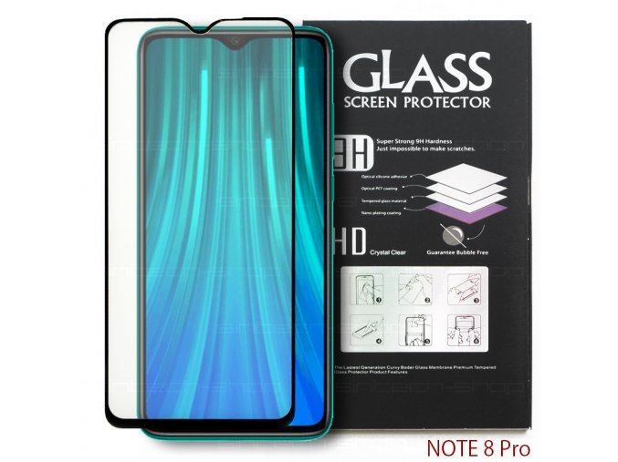 3640 tempered glass xiaomi note 8p 1