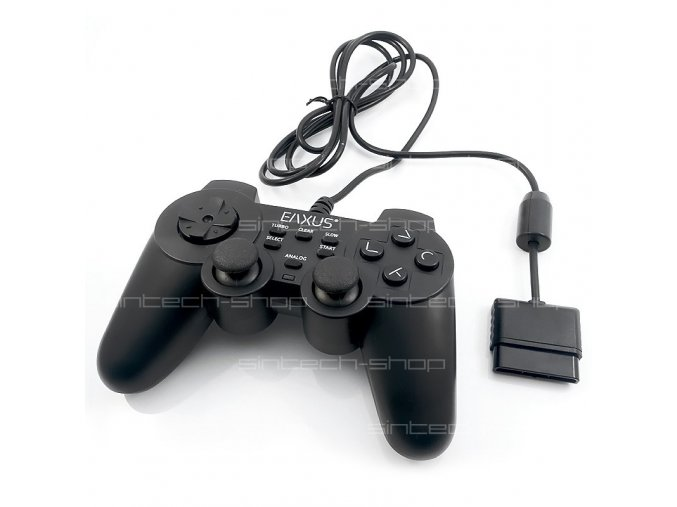 PS2 EAXUS Doubleshock II Joypad