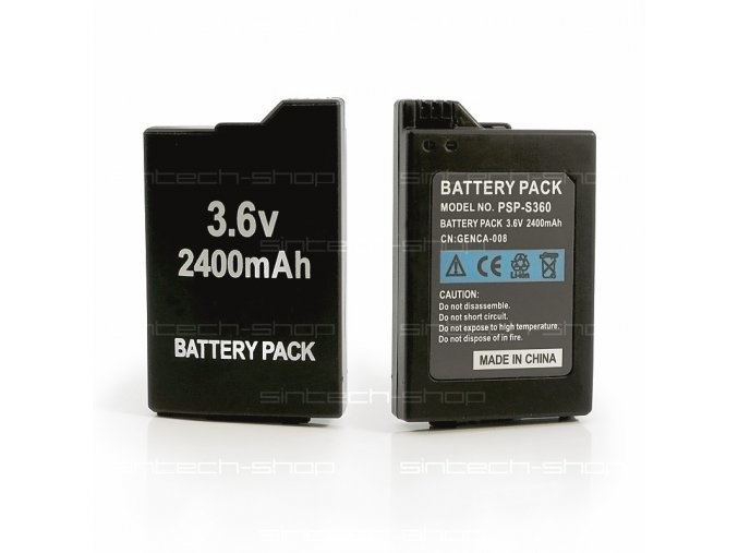 Akumulátor 2400 mAh pro PSP2000/3000
