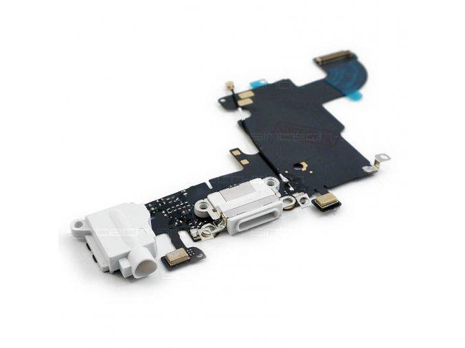 iPhone 6S docking port se sluchátkovým jackem a flexem, bílý