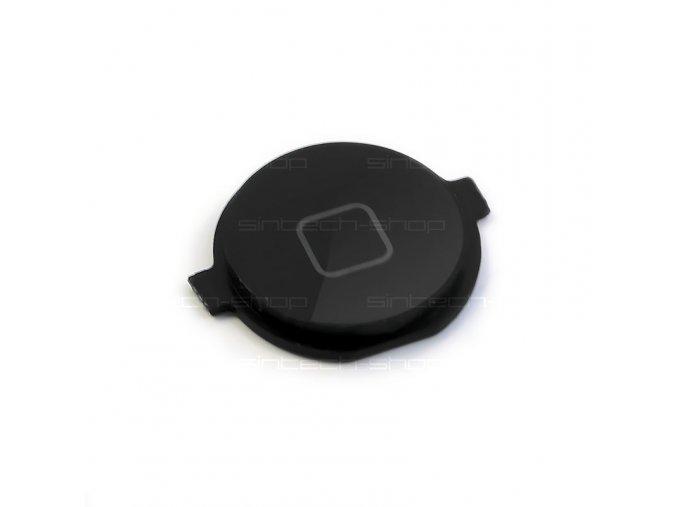 iPhone 3G/3GS/4 tlačítko Home - černé