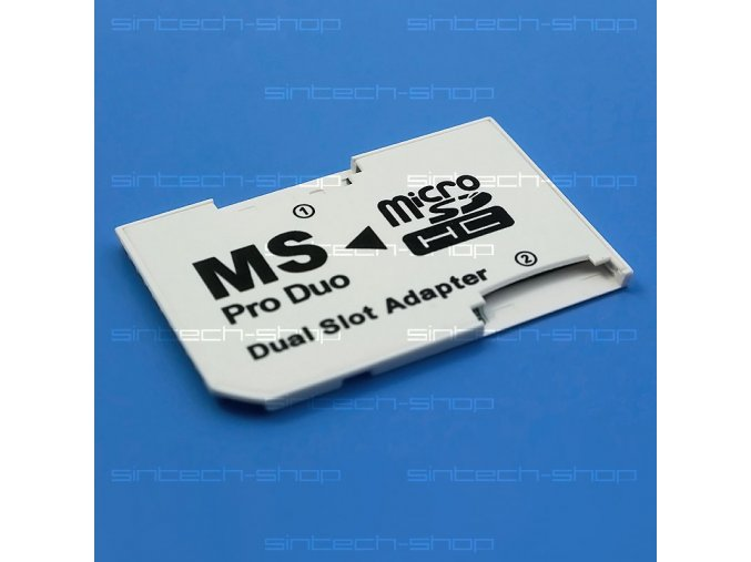 Adaptér pro dvě Micro SD(HC) karty