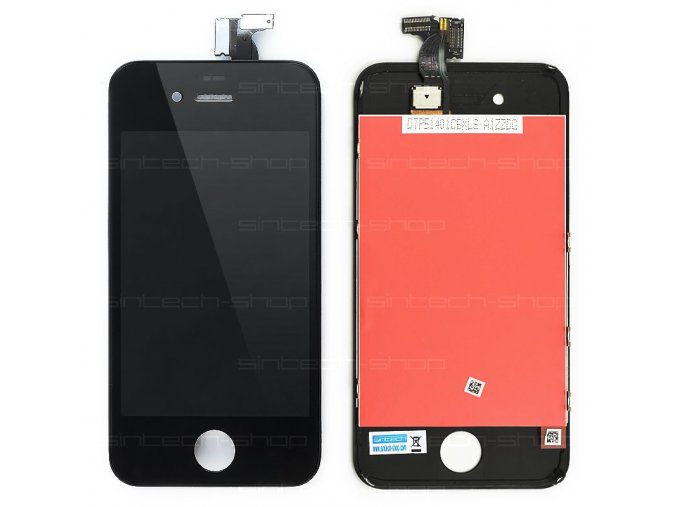 iPhone4 kompletní čelní díl s LCD ORIGINAL - černý