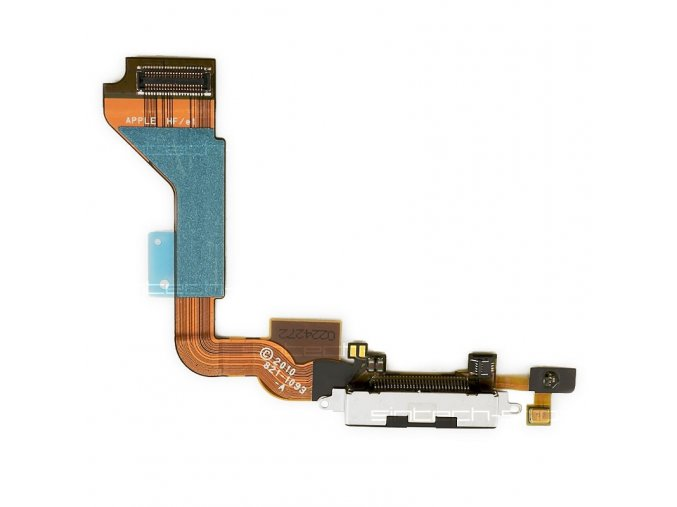 iPhone4 systémový konektor s flex kabelem - černý