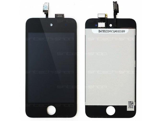 iPod Touch 4G Display komplet (sklo, LCD, Touchscreen) - černý