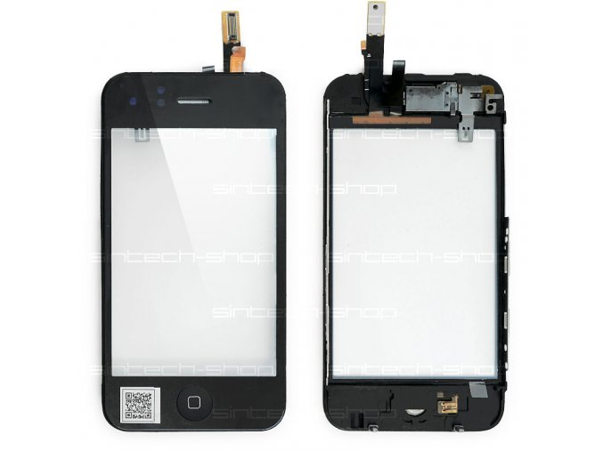iPhone 3GS digitizer s rámem a tlačítkem Home